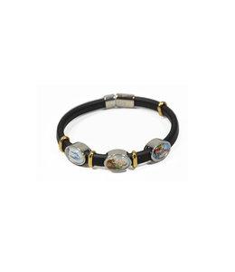 Bracelet Saint Joseph, Miraculeuse et N.-D. de Lourdes