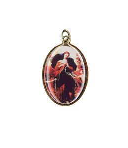 Médaille couleur Marie qui défait les nœuds