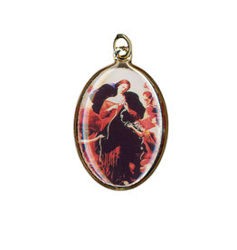 Mary Undoer of Knots medal