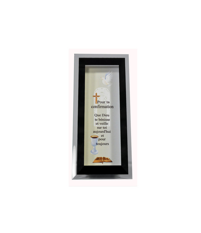 Confirmation glass and mirror frame (french)