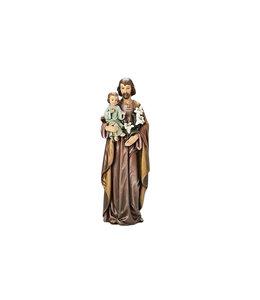 Joseph's Studio / Roman Statue saint Joseph en résine couleur (45cm)