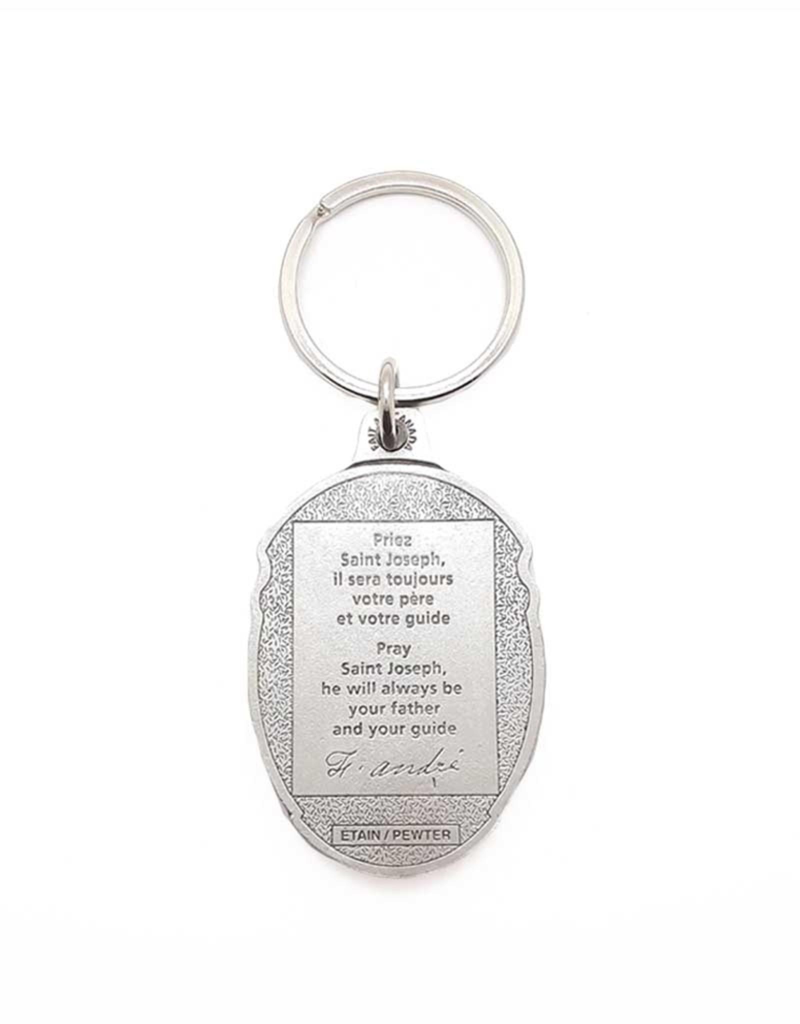 Porte-clés de l'Oratoire et citation