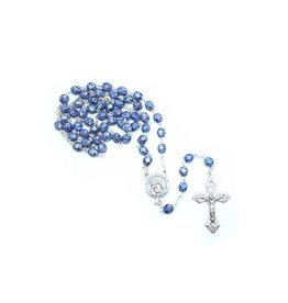 Mother Teresa blue stone finish rosary