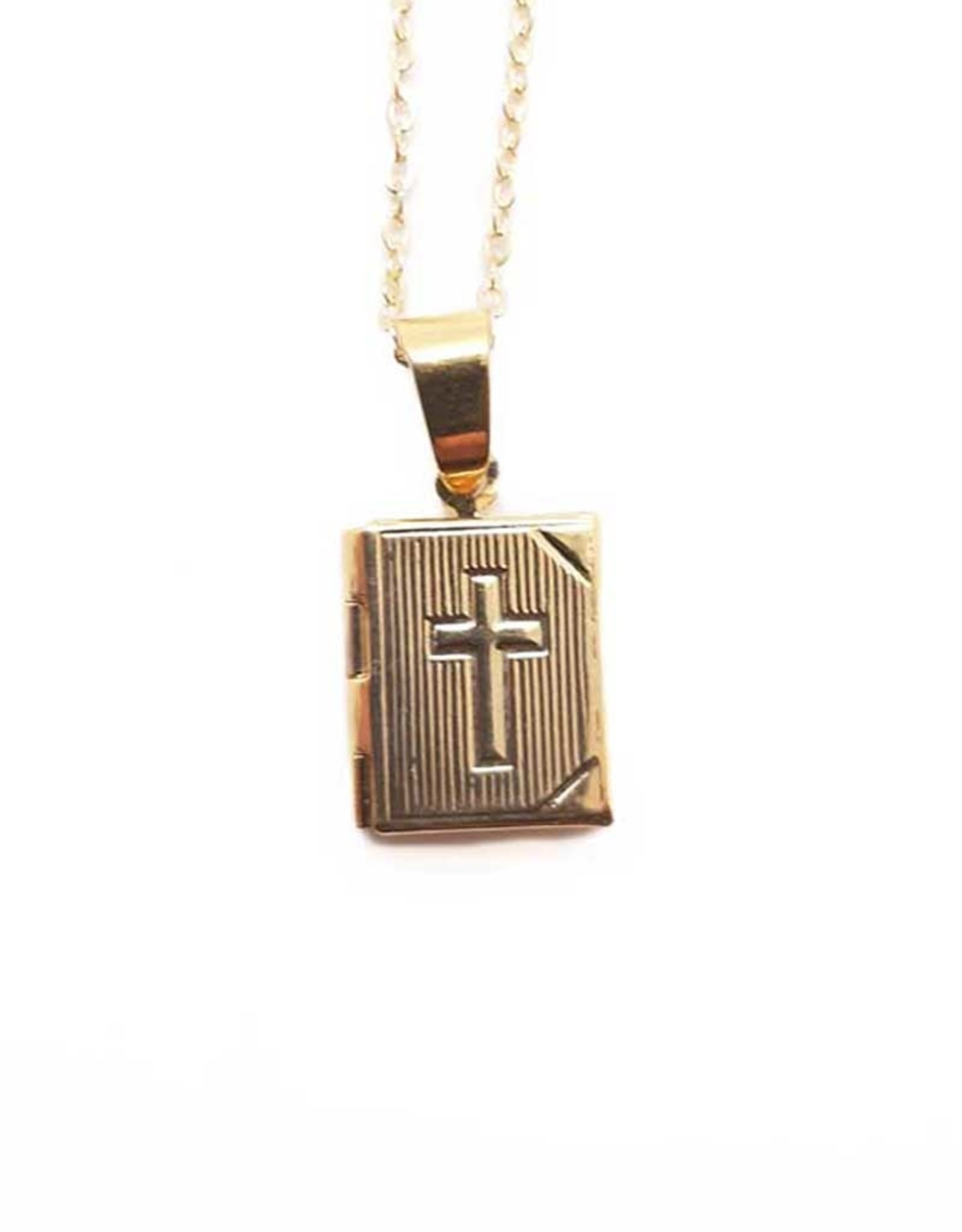 Pendant : Divine Mercy and Medjugorje double frame