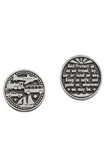 Travel prayer coin
