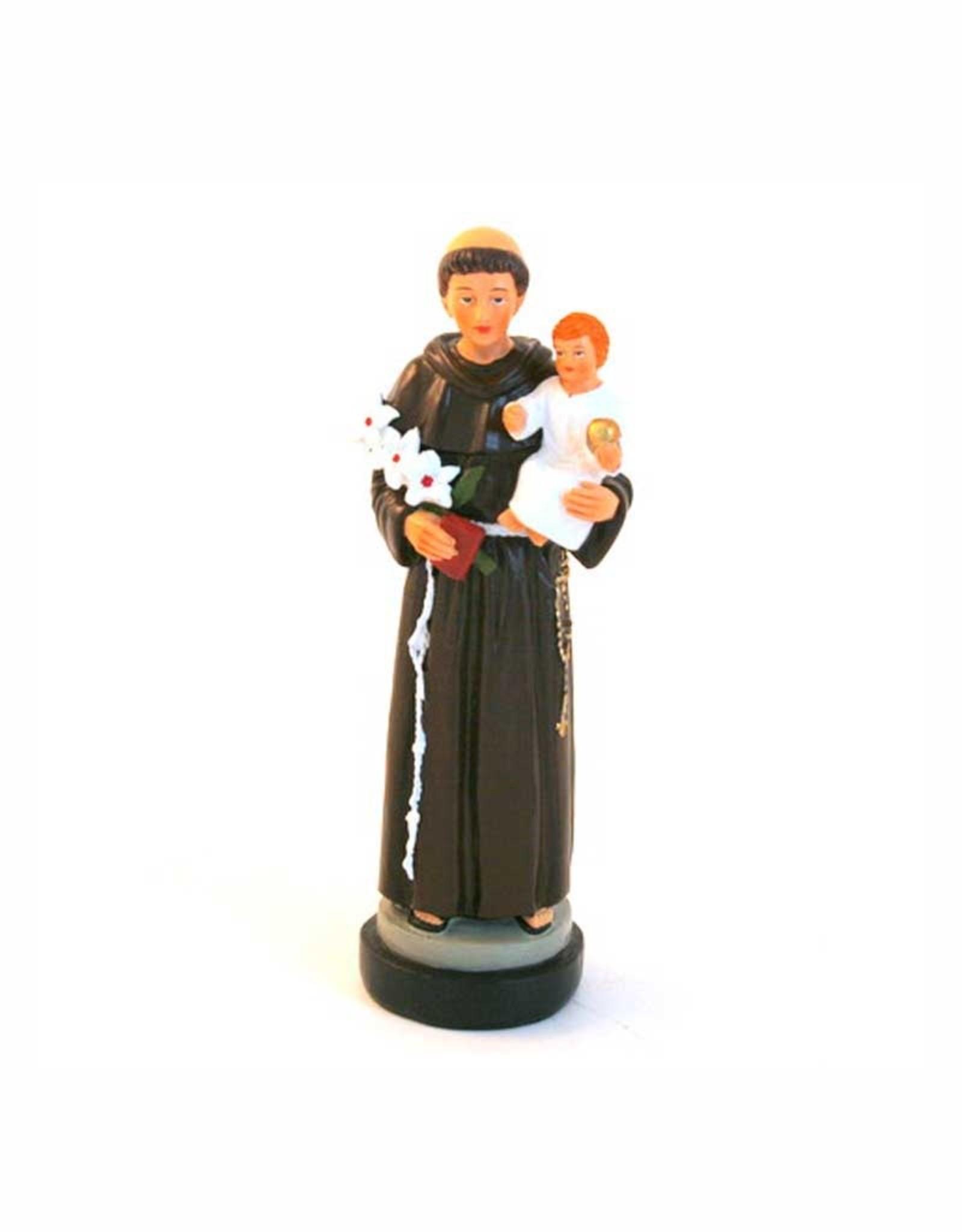 Statue saint Antoine résine (16cm)