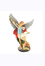 Saint Michael resin statue (16cm)