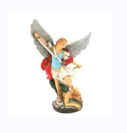 Statue saint Michel résine (16cm)