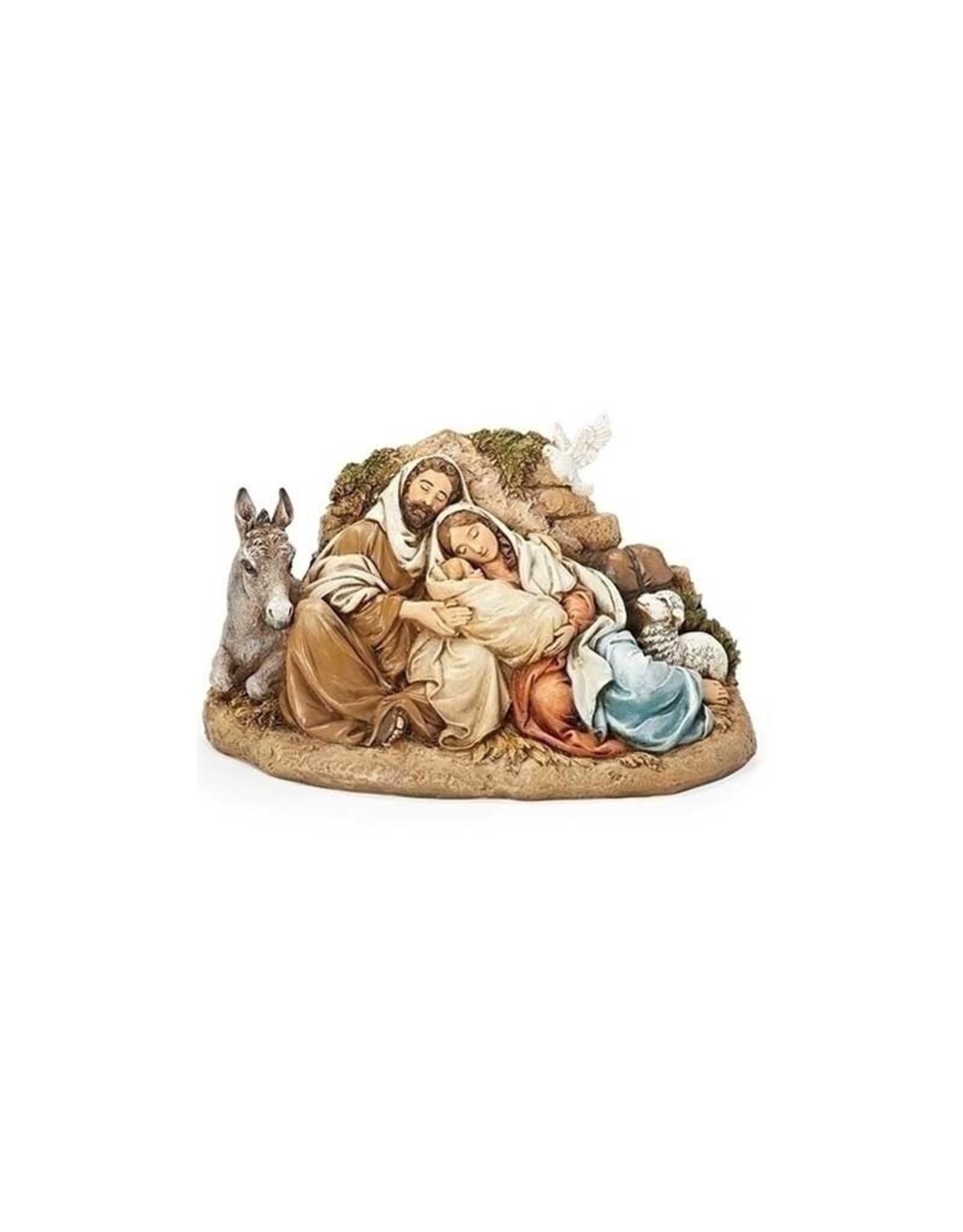 Joseph's Studio / Roman Nativité se reposant en résine (15cm)