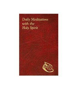 Catholic Book Publishing Daily Meditations with the Holy Spirit (anglais)