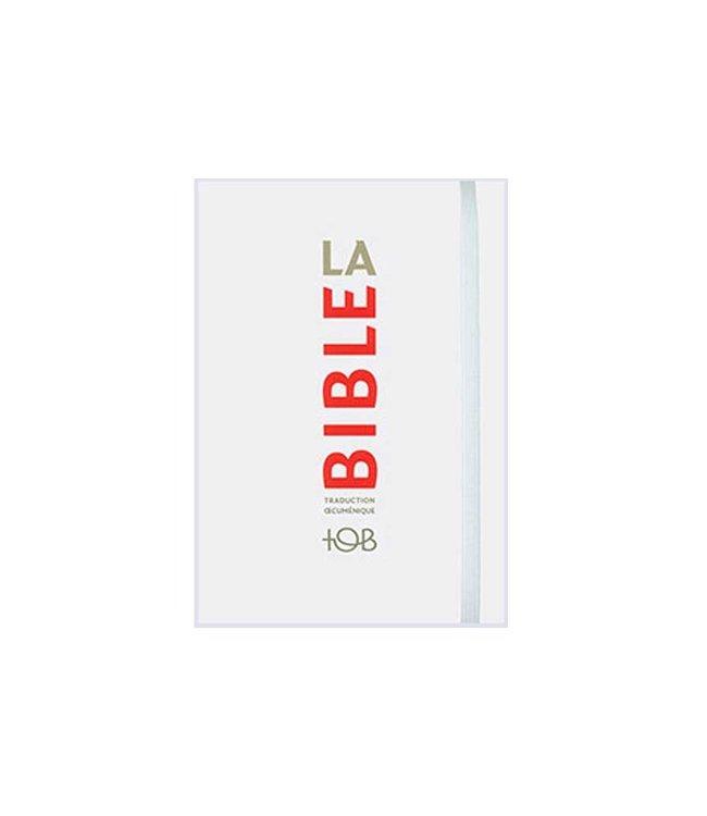 Société Biblique / Bible Society La Bible - Traduction Œcuménique TOB, blanc format poche