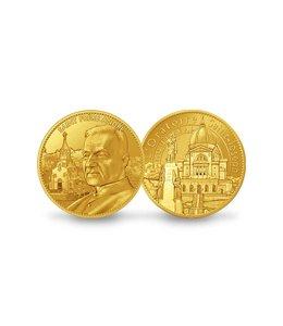 Pichard-Balme Souvenir medallion of Saint Brother André