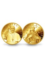 Pichard-Balme Pope Francis / Saint Francis of Assisi souvenir medallion