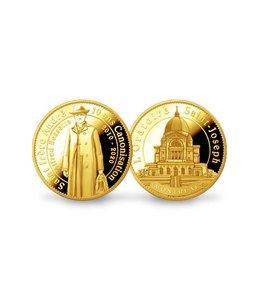 Pichard-Balme Saint Brother Andre 10th anniversary of the canonization medallion