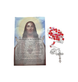 Sacred Heart of Jesus chaplet and prayer in 3 languages