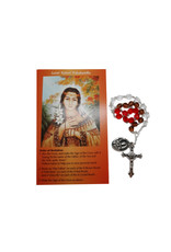 Saint Kateri Tekakwitha chaplet and prayer in 2 languages