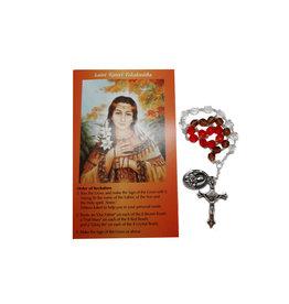 Chapelet  Sainte Kateri Tekakwitha et prière en 2 langues