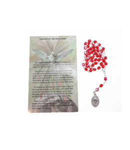 Holy Spirit Rosary and prayer in 3 languages
