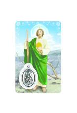 Carte médaille Saint Jude (anglais)