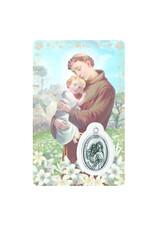 Medal card : Saint Anthony