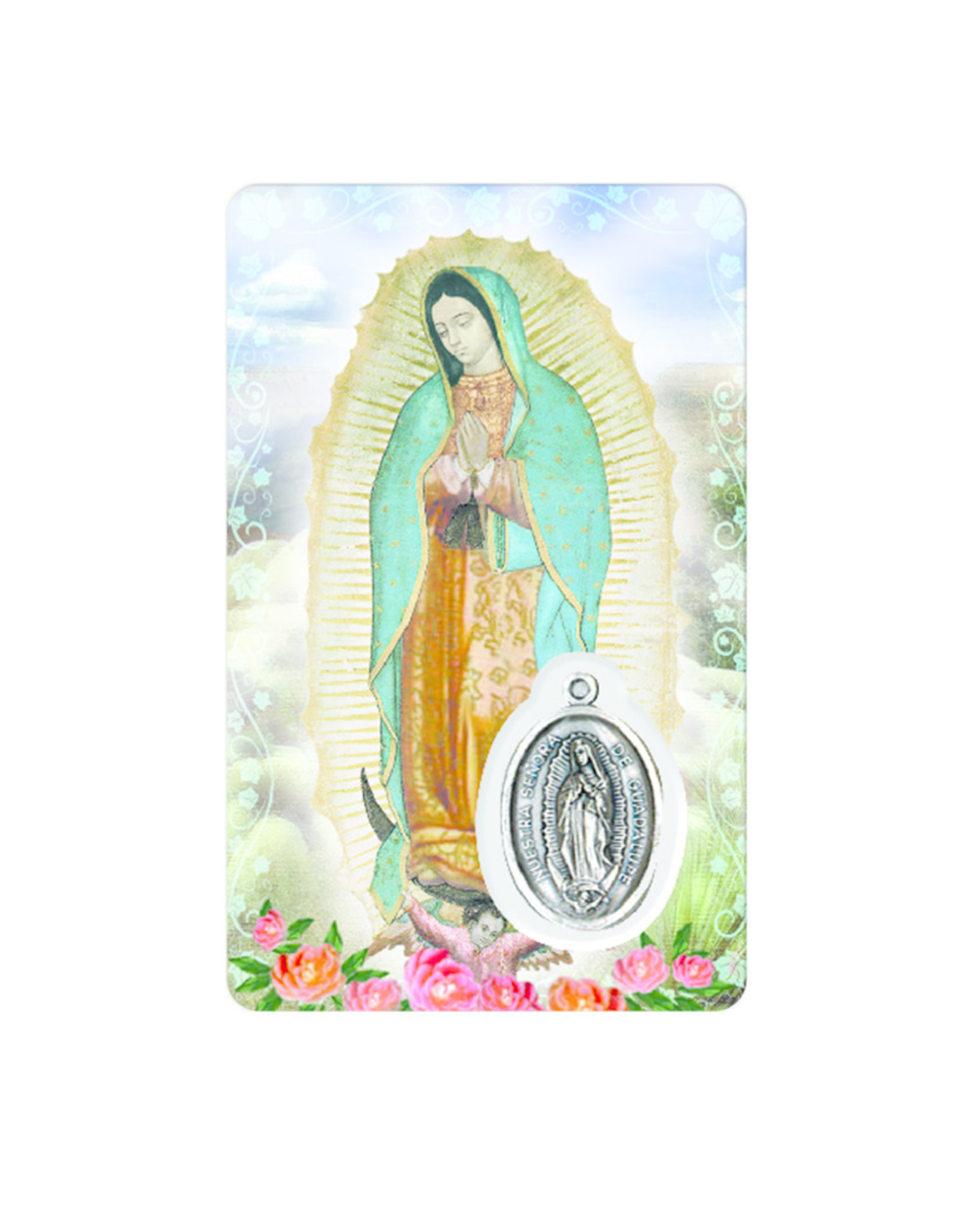 Medal Card : Virgen de Guadalupe (spanish)