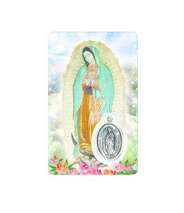 Medal Card : Virgen de Guadalupe (spanish)