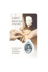 Medal card : Saint Brother André, Patron Saint of family caregivers