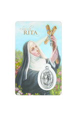 Medal Card : Saint Rita (french)