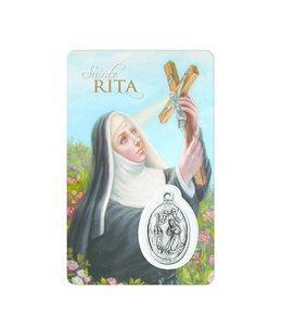 Medal Card : Saint Rita (french)