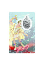Medal card : Archangel Saint Michael