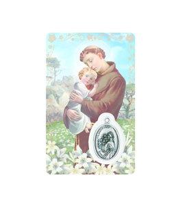 Carte médaille saint Antoine