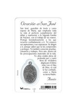 Carte médaille San Jose (espagnol)