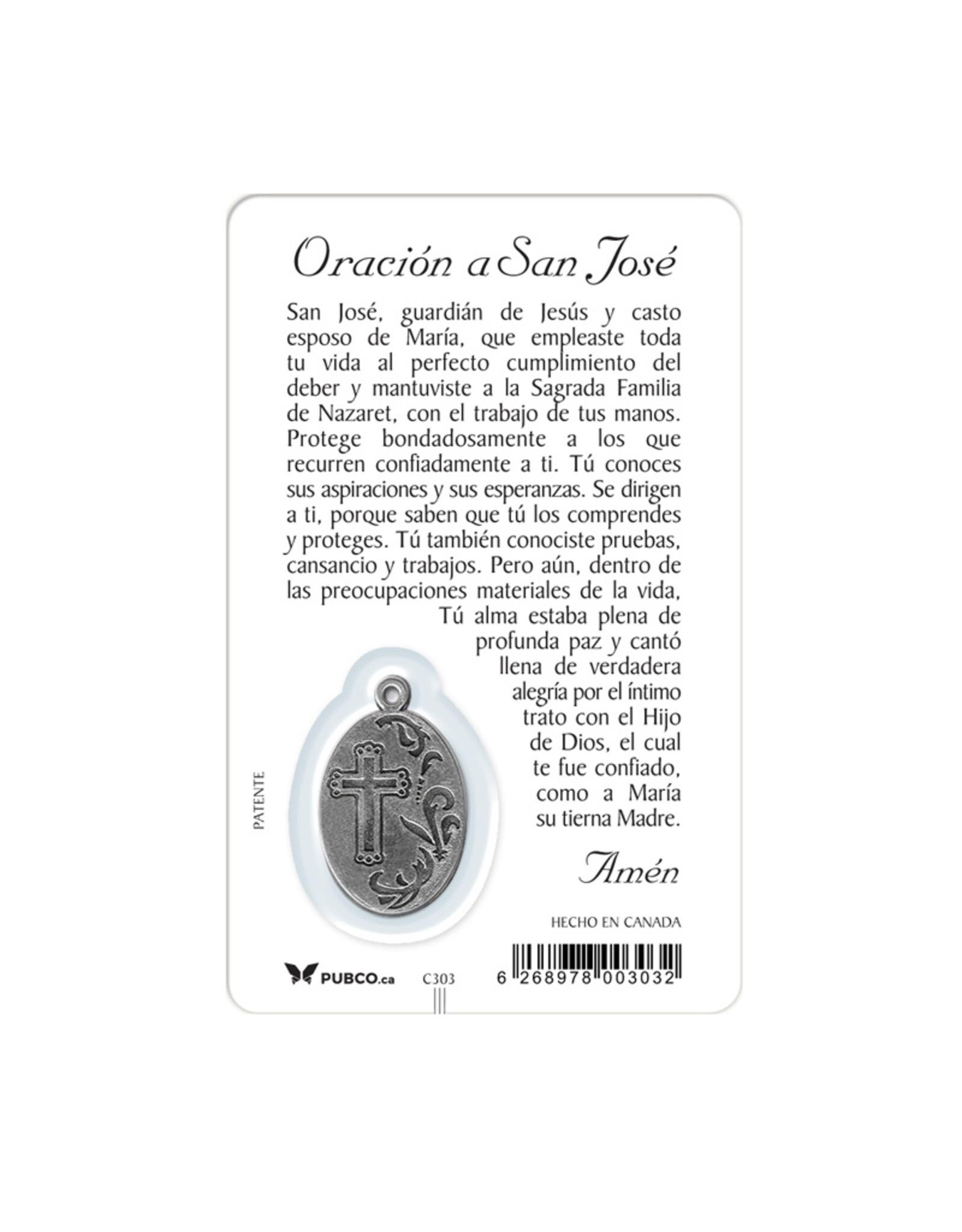 Medal card : San Jose (spanish)