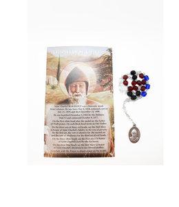 Saint Charbel rosary and prayer