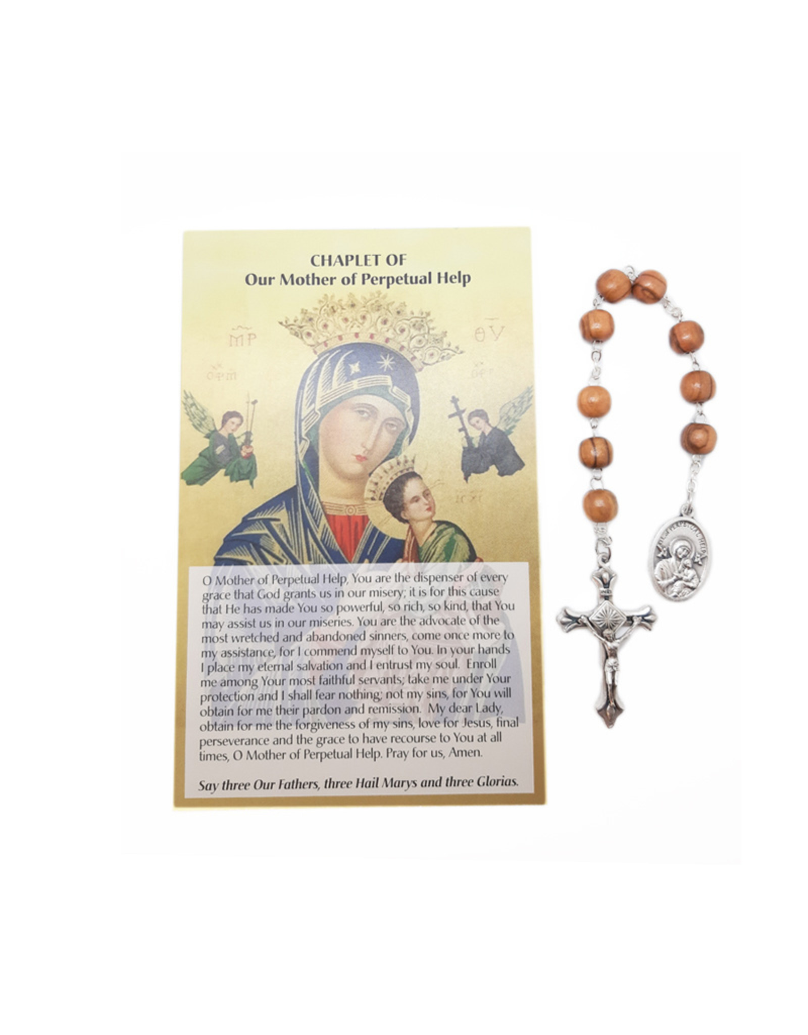 Dizaninier Notre-Dame du Perpétuel-Secours et prière en 3 langues