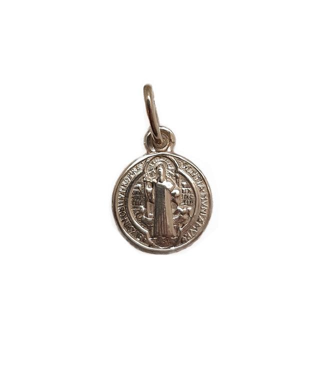 Saint Benedict 10k gold medal (10mm)