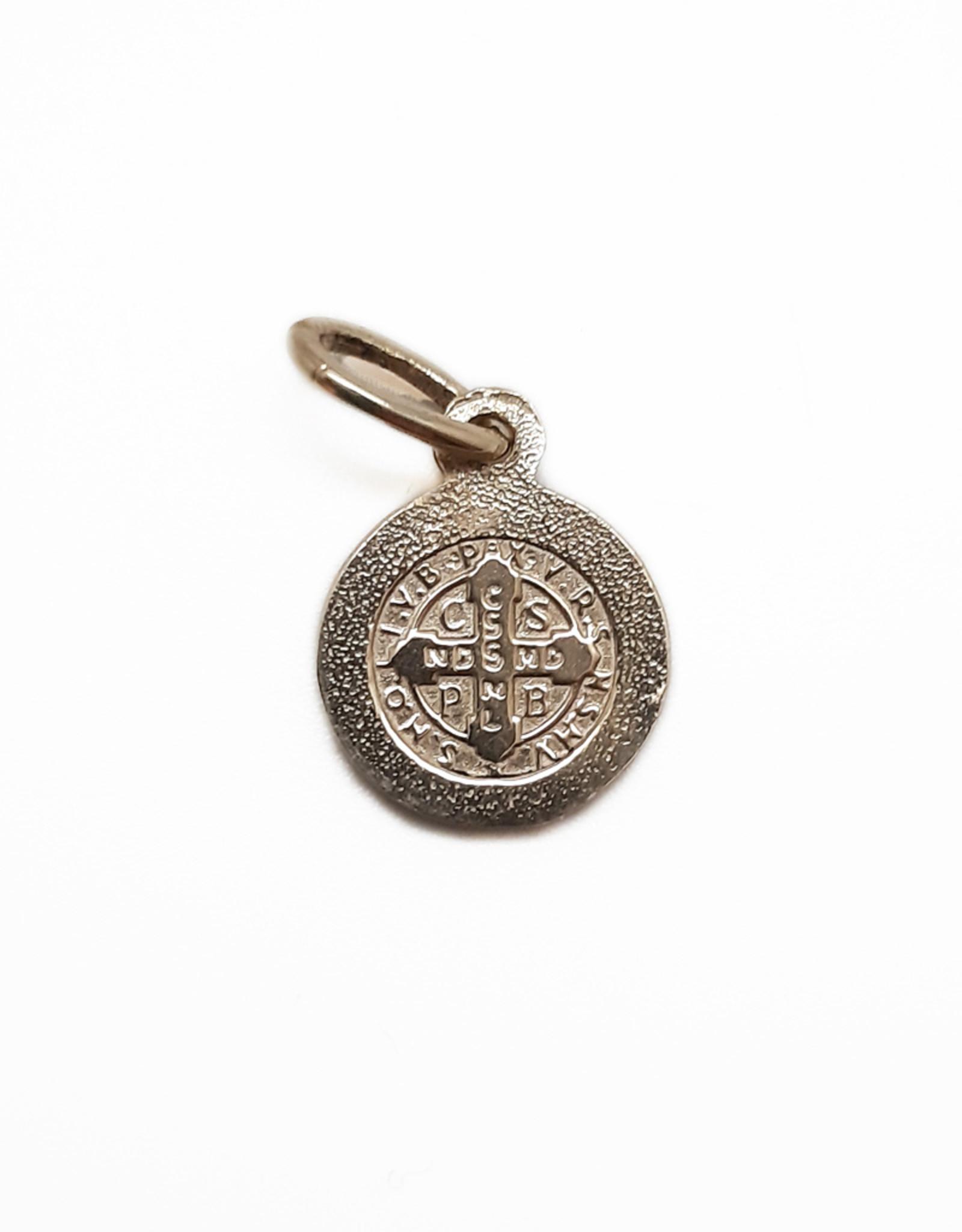 Médaille Saint Benoît, or 10k (10mm)