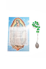 Our Lady of Guadalupe chaplet and prayer in 3 languages