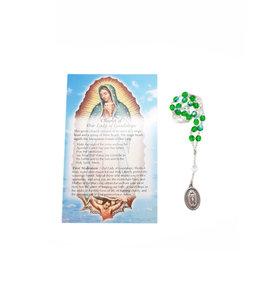 Chapelet Notre-Dame de Guadalupe et prière  en 3 langues