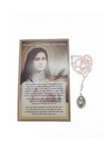 Chapelet  Sainte Thérèse et prière en 3 langues