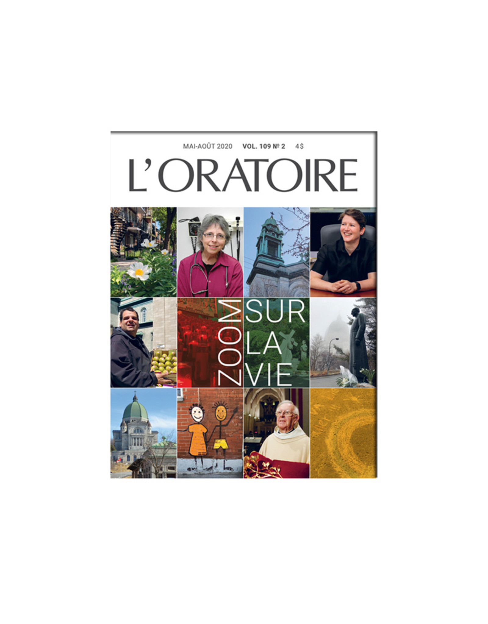 Revue L'Oratoire Mai-Août 2020 vol.109. no.2