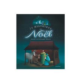 Mame 24 histoires de Noël pour attendre Jésus (french)