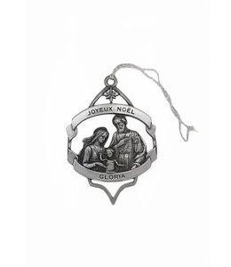 Ornement en métal Nativité et Oratoire