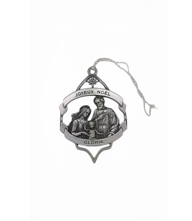 Nativity and Oratory metal ornament