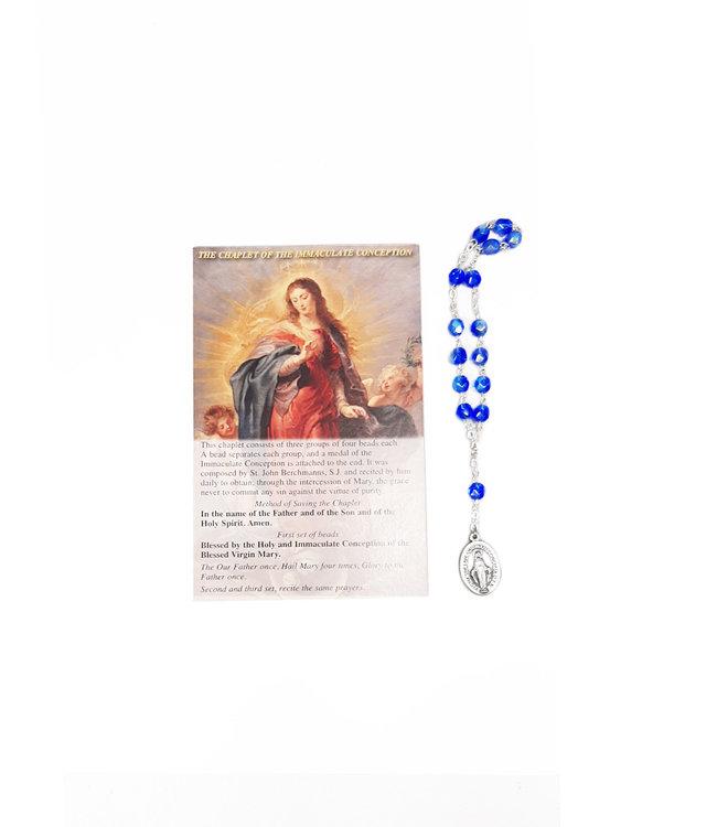 Chapelet de l'Immaculée Conception et prière en 3 langues