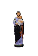 Statue Saint Joseph et Enfant Jésus - 30 cm