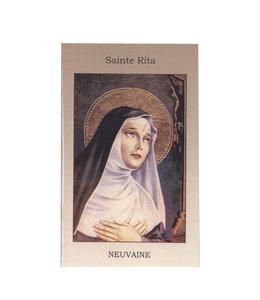 Neuvaine à sainte Rita (french)