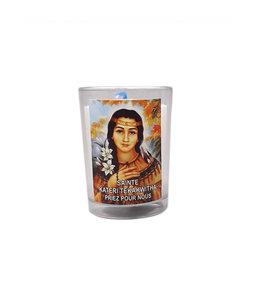 Chandelles Tradition / Tradition Candles Lampion de sainte Kateri Tekakwitha