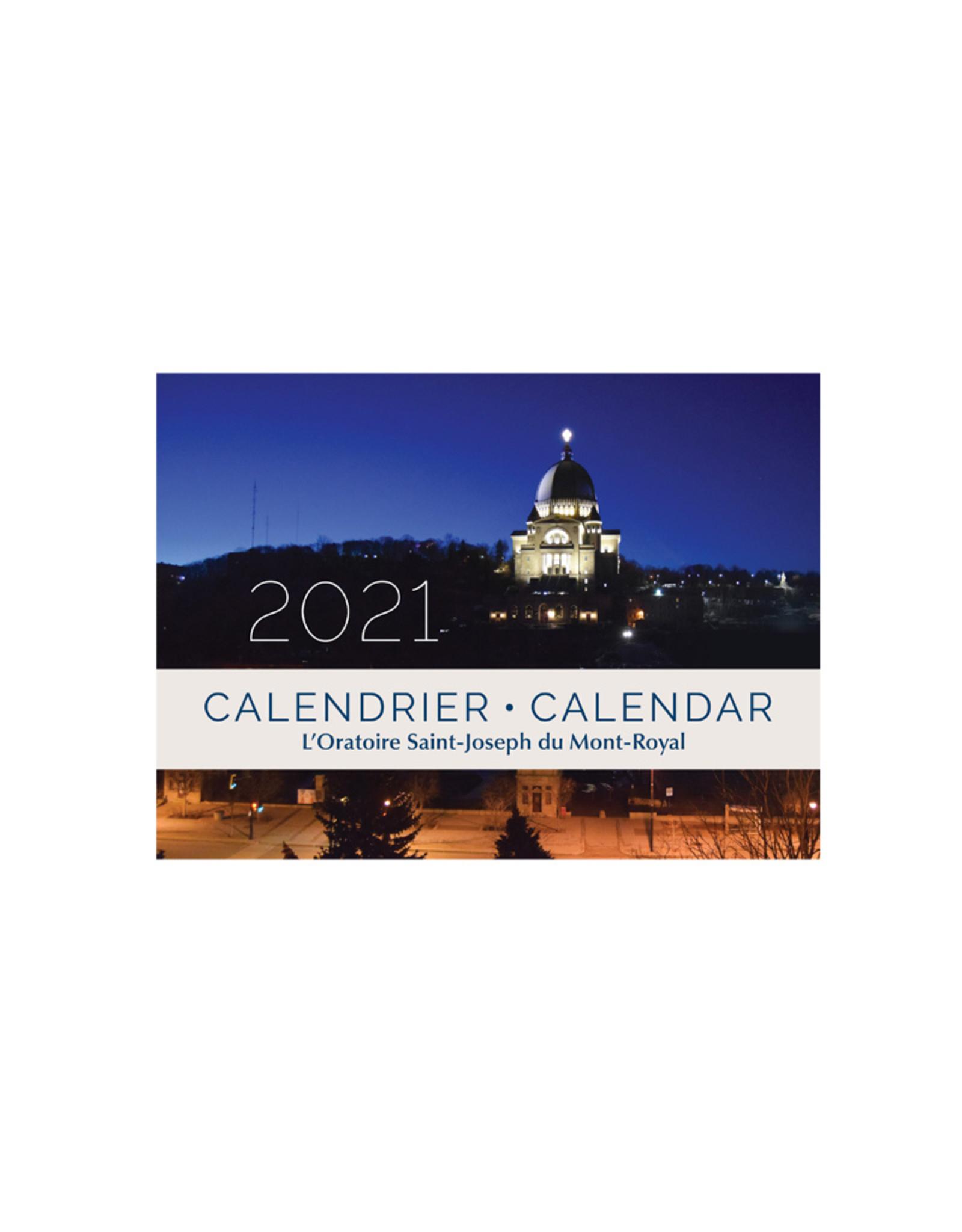 Calendrier 2021 de l'Oratoire   L'Oratoire Saint Joseph