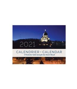 L'Oratoire Saint-Joseph du Mont-Royal 2021 Oratory Calendar